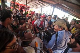 Ato defende a desapropriação da Fazenda de Eunício de Oliveira