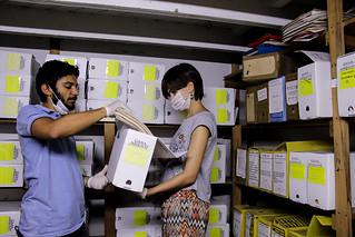 Arquivos históricos do MST começam a ser organizados