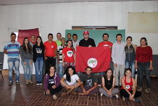 Encontro do MST reúne estudantes e militantes na região Sul