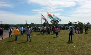 Agricultores paraguaios intensificam luta contra o modelo do agronegócio