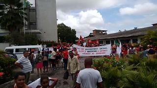 Mais de 600 mulheres ocupam Ministério da Agricultura em Recife