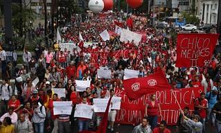 Movimentos sociais do campo realizam ato unificado em São Paulo