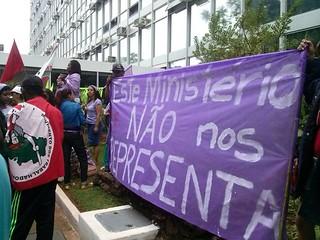 Em Brasília, camponesas protagonizam mobilizações e participam de audiências