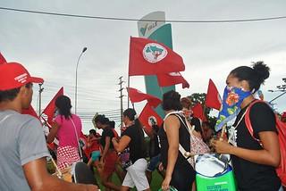 Após ocuparem a Vale no Maranhão, Sem Terra acampam na sede do Incra