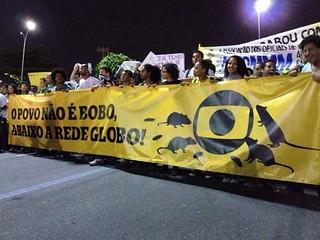 """Movimentos promovem ações para """"descomemorar"""" aniversário da Globo"""