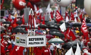 Movimentos sociais preparam semana de mobilização pela reforma política