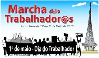 Em Brasília, MST se junta ao 1° de Maio na luta por mais direitos e Reforma Agrária