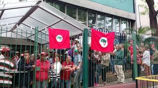 Sem Terra ocupam Incra e se preparam para o 1° de Maio em São Paulo