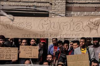 Nossa solidariedade ao camarada Mumia Abu Jammal