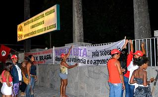 Sem Terra ocupam a superintendência do Ministério da Agricultura em Alagoas