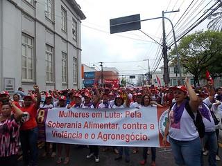 Ato unificado celebra Dia Internacional da Mulher em Aracaju