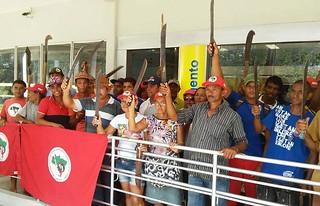 No nordeste, milhares de Sem Terra ocupam agências dos Bancos do Brasil e Nordeste
