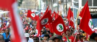 Sem Terra vão às ruas na Jornada de Lutas pela Reforma Agrária 2015