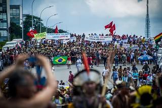 Mobilização Nacional Indígena promove atos em todo o país