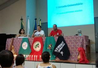 Em Goiás, jornada debate a luta pela terra e a violência no campo brasileiro
