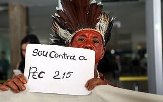 Deputados lançam manifesto contra PEC da demarcação de terras indígenas