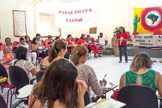 Projeto visa fortalecer debate da soberania alimentar nas escolas dos assentamentos