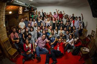 Festa-show marca lançamento do coletivo Jornalistas Livres em São Paulo