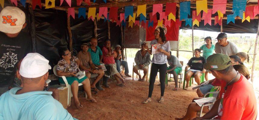 Sem Terra intensificam trabalho de base em Sergipe