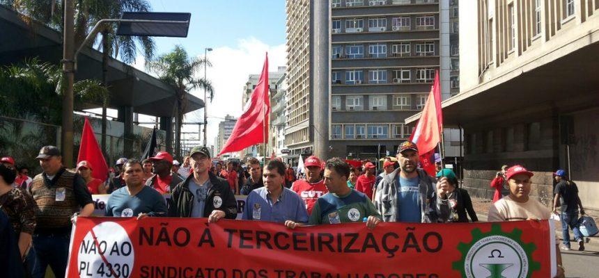MST participa de mobilizações na Capital gaúcha