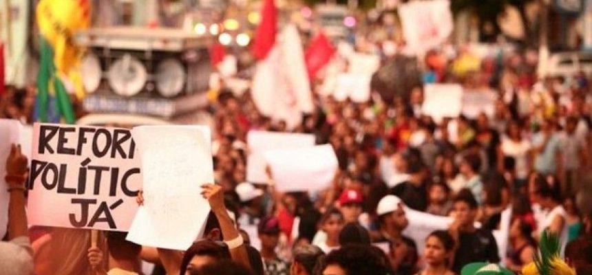 Movimentos denunciam Cunha e os 84 deputados que mudaram seus votos