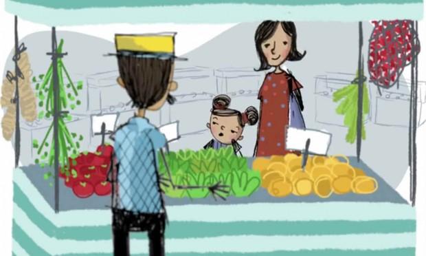 Desenho animado aborda os problemas dos agrotóxicos e alimentos transgênicos