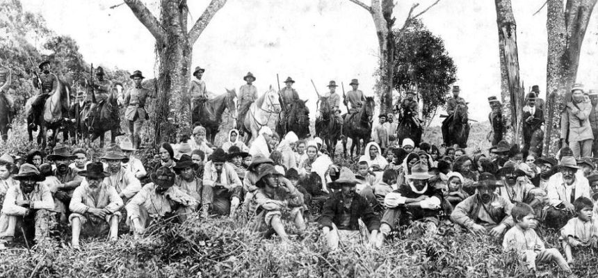 Túnel do tempo traz os 100 anos da Guerra do Contestado na jornada de agroecologia