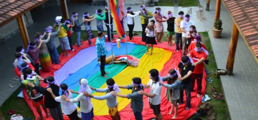 Atividade discute diversidade sexual e identidade de gênero na ENFF