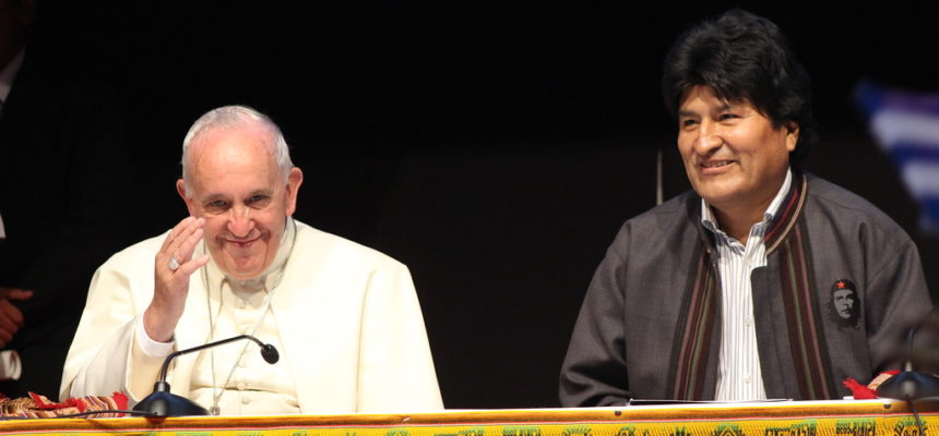 """""""Jamais percam sua fé revolucionária"""", diz Papa Francisco aos movimentos populares"""
