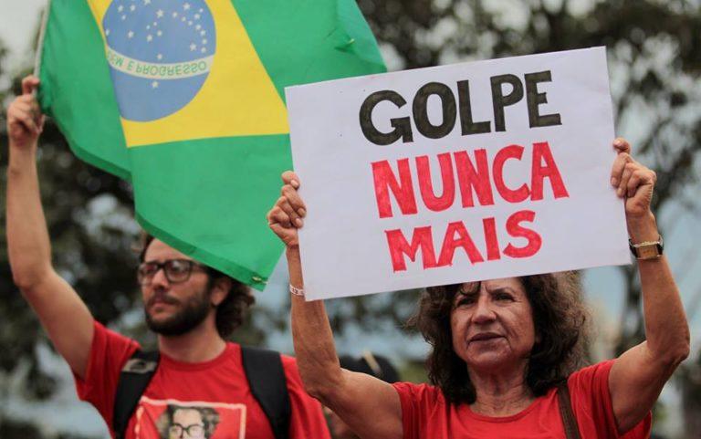 Movimentos populares se levantam contra o golpe