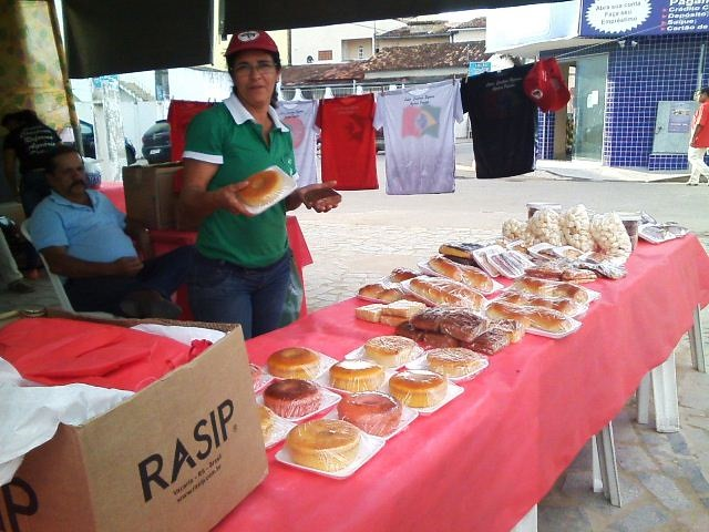 Sem Terra ocupam as ruas da Bahia