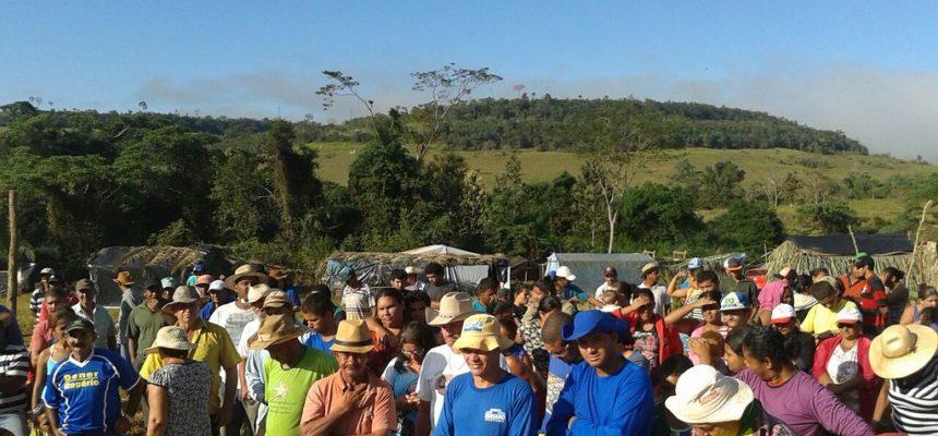 No MT, Sem Terra realizam ato em defesa da Reforma Agrária Popular