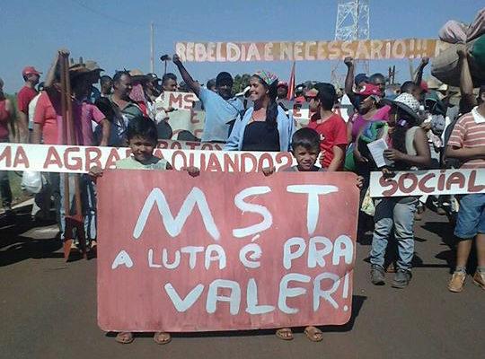 Sem Terra marcham por Reforma Agrária no interior de São Paulo