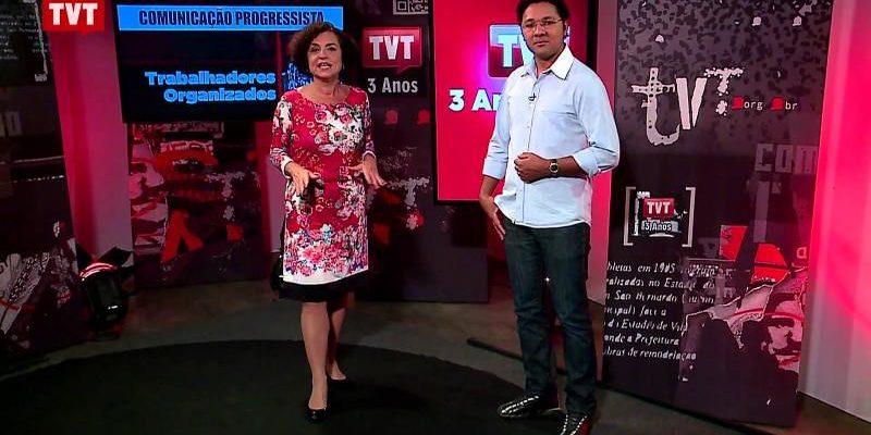 A televisão dos trabalhadores, TVT completa cinco anos ampliando programação e alcance