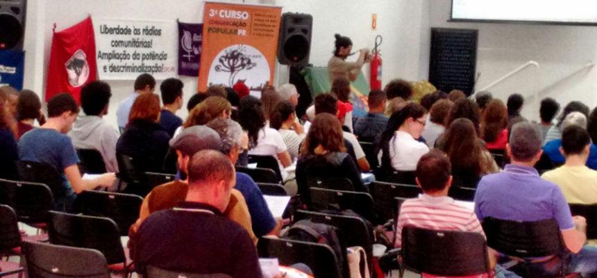Curso de Comunicação Popular no Paraná homenageia Vito Gianotti