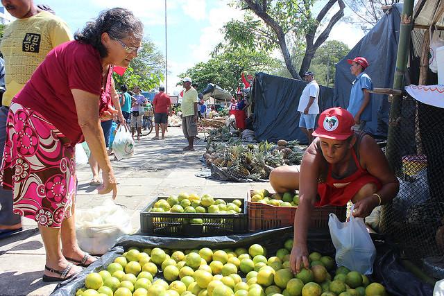 Toneladas de alimentos dão início à 16ª Feira da Reforma Agrária em Maceió