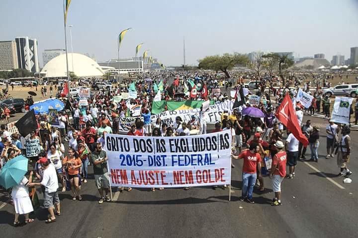 Neste 7 de setembro Excluídos e Excluídas do Distrito Federal vão às ruas reivindicar direitos