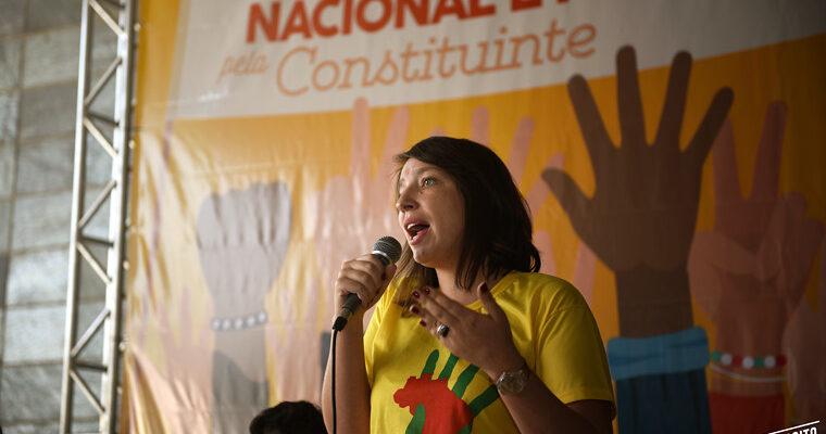 """""""Constituinte é necessária para sair da crise política"""", defende ativista"""