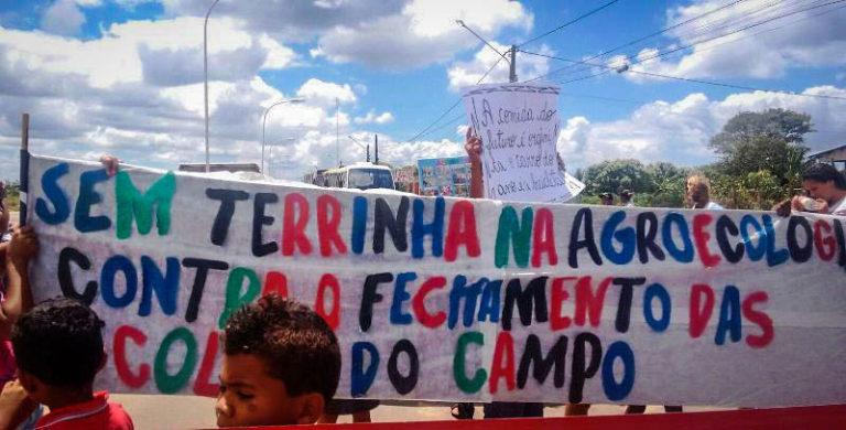 Sem Terrinha lutam contra o fechamento de escolas no sul da Bahia