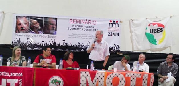 Movimentos, organizações e personalidades se solidarizam com MST e Stedile