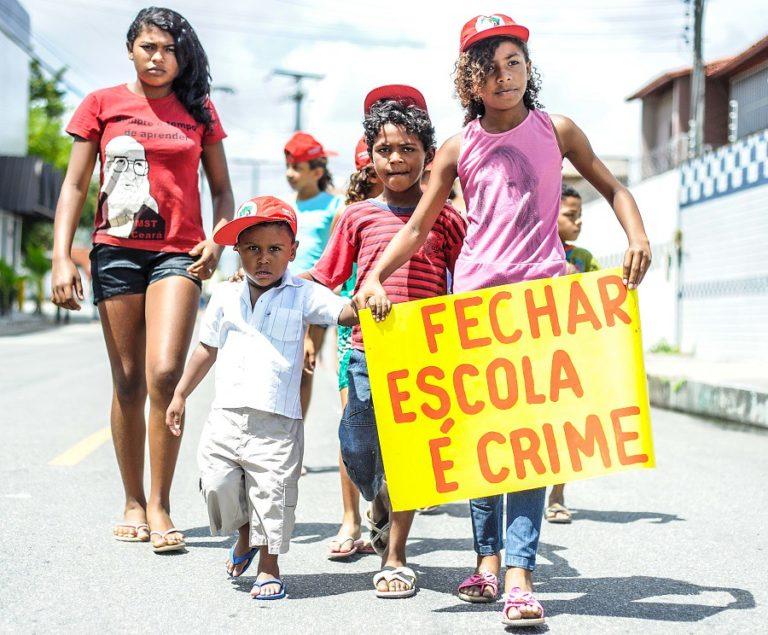 Mais de 400 Sem Terrinha se reúnem durante encontro no Ceará