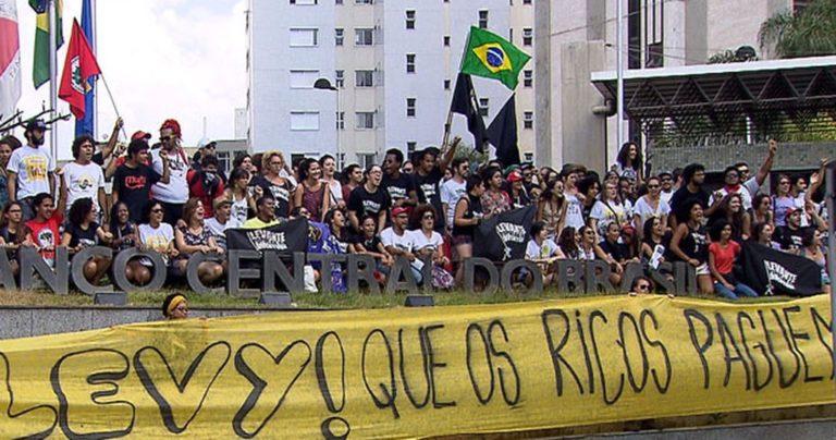 Movimentos vão às ruas exigir mudança na política econômica de Dilma