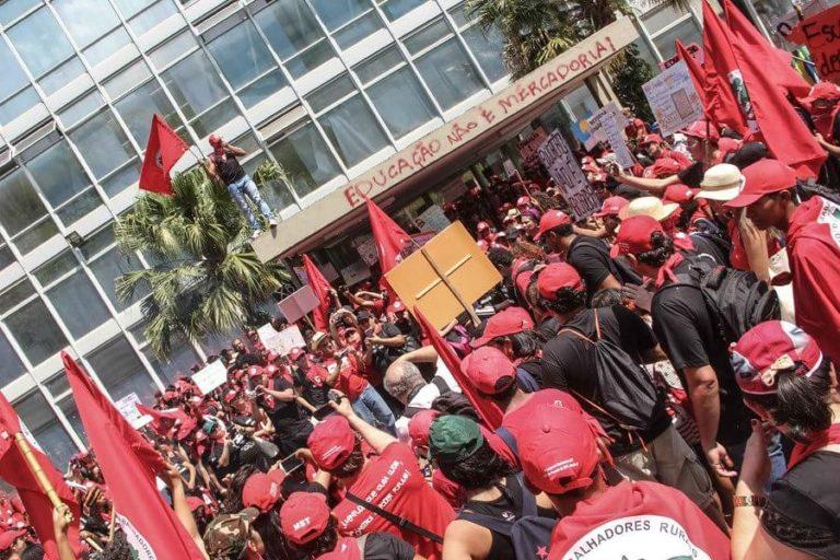Educadores da Reforma Agrária lançam manifesto pela educação durante o 2° Enera
