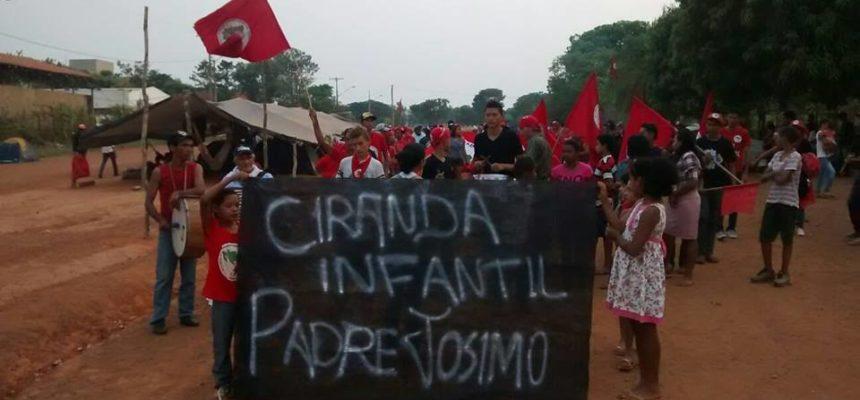 Sem Terrinha se mobilizam por educação em Tocantins