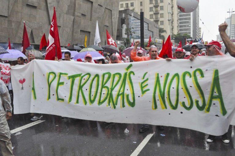 a defesa da Petrobrás e os interesses internacionais em disputa