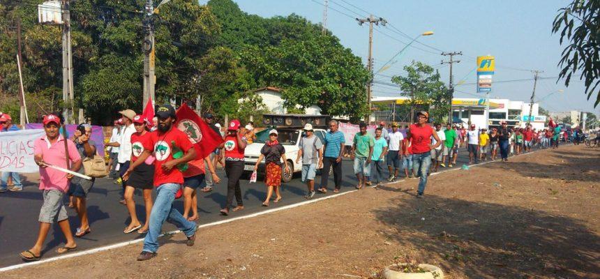 Sem Terra realizam  marcha pela Reforma Agrária no Maranhão