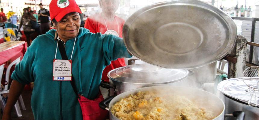 Cozinhas regionais trazem os sabores da Reforma Agrária Popular ao Parque Água Branca