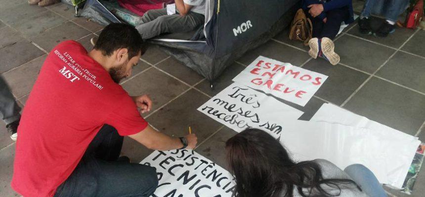 Técnicos da Coptec ocupam Incra em Porto Alegre
