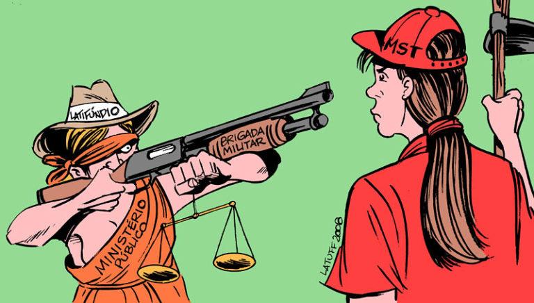 ação judicial contra Sem Terras em TO visa criminalizar a luta social