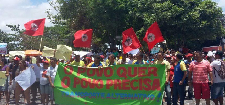 Movimentos sociais se unem na luta por transporte na Bahia